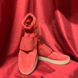 adidas Shoes - adidas Tubular Invader Red Sneakers Mens Size 12